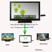 Mini PC Android MK802 II pour TV