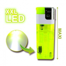 Maxi briquet XXL à LED
