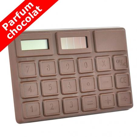 Calculatrice chocolat solaire