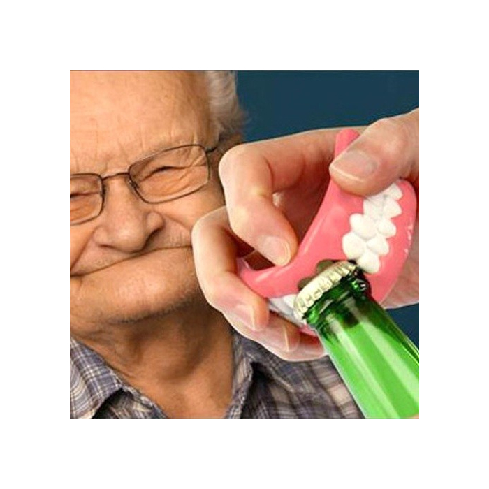 Dentier décapsuleur