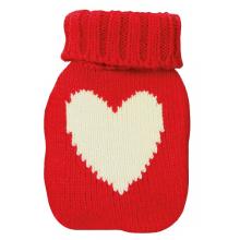 Chaufferette de poche avec housse tricot