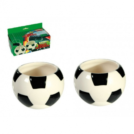 Verres shooter ballon de football
