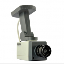 Caméra factice motorisée à détecteur de mouvements