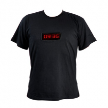 Tee-shirt message LED programmable