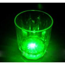 Verre shooter lumineux couleur verte