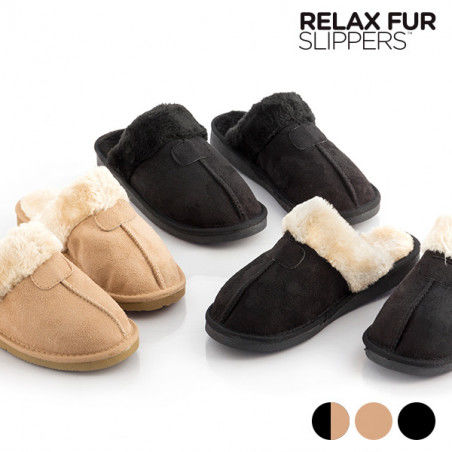 Chaussons Relax Fur