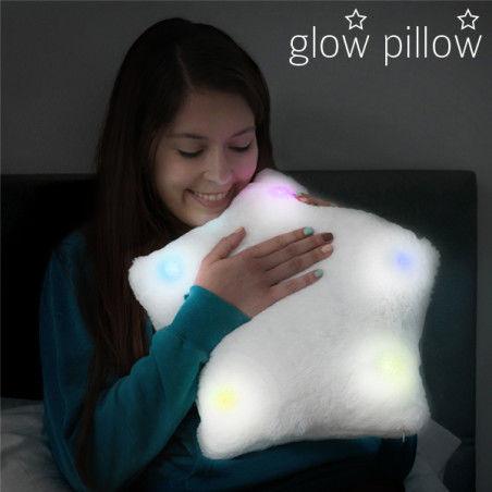Coussin lumineux Étoile Glow Pillow