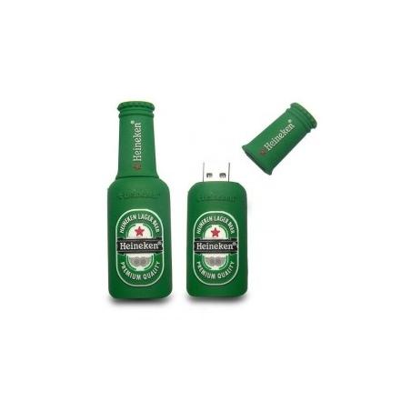 Clé usb 8 GO bouteille de bière verte