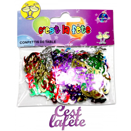 """Confettis de table """"C'est la fête"""""""