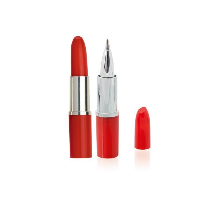 Stylo en forme de rouge à lèvre