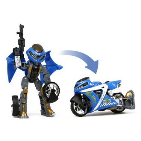 Moto robot transformable