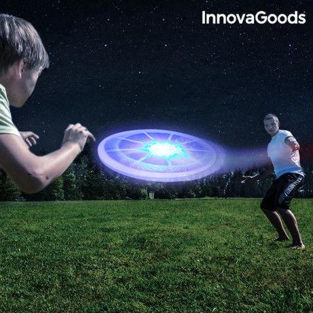 Frisbee avec LED Multicolore InnovaGoods