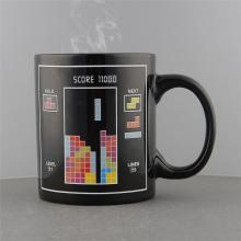 Mug tetris magique avec réaction à la chaleur