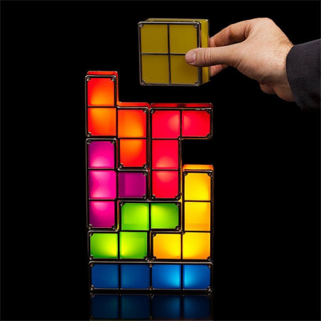 Lampe Tetris modulable design