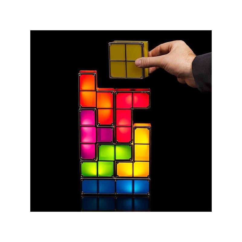 lampe tetris modulable design. Black Bedroom Furniture Sets. Home Design Ideas