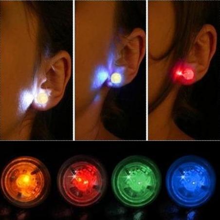 Paire de boucles d'oreilles LED
