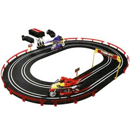 Circuit de motos téléguidées