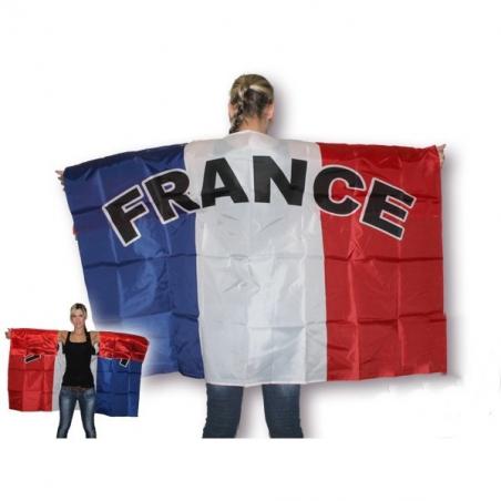 Cape drapeau de la France