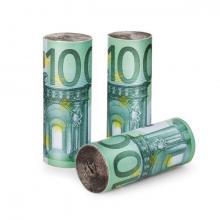 Allume-feu billets euro pour barbecue et cheminée