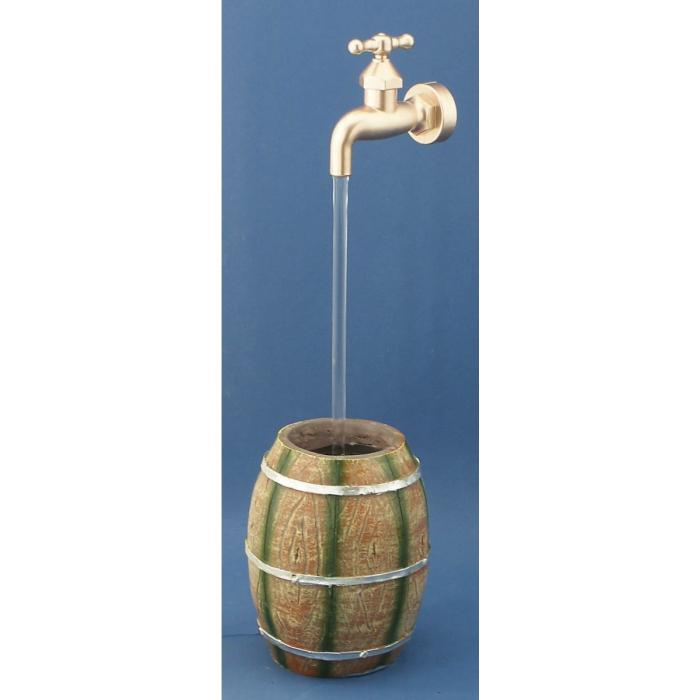 Fontaine fût robinet magique