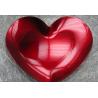 Plateau coeur rouge