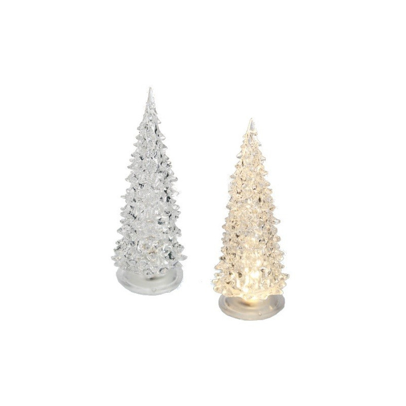 Petit sapin de no l artificiel d coration cadeaux gadgets for Sapin led interieur