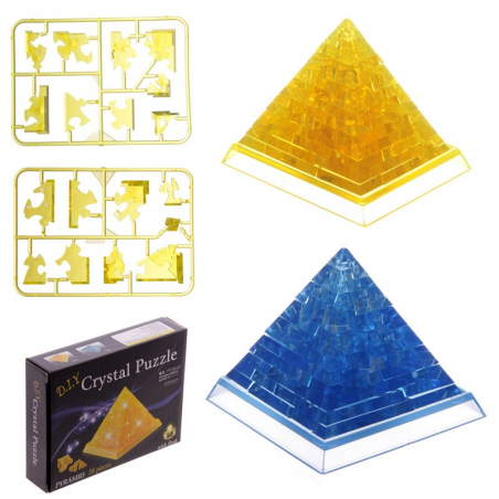 Puzlle pyramide 3D lumineuse