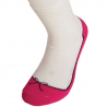 Paire de chaussettes ballerines roses