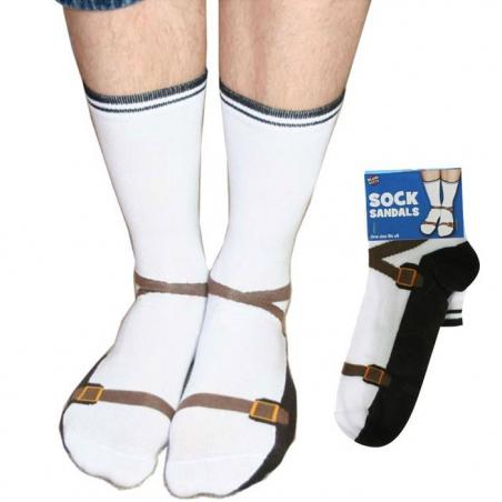 Paire de chaussettes sandales