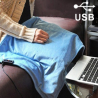 Couveture chauffante USB