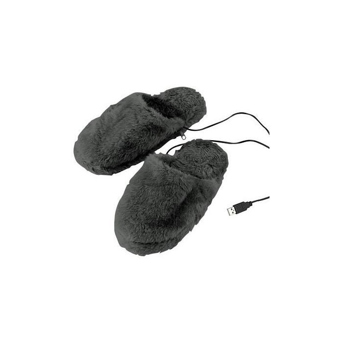 Chaussons chauffants USB