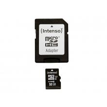 Carte micro SD HC 32GB avec adaptateur carte SD