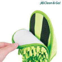 Chaussons patins auto-nettoyants