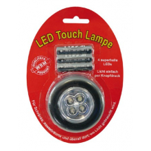 Lampe adhésive à piles