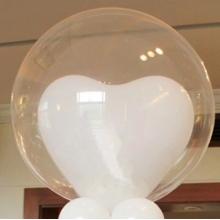 Lot de 6 ballons cristal de 50 cm