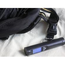 Pèse bagages électronique portable avec led