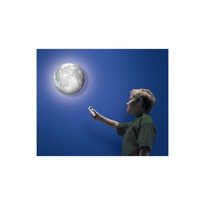 Lampe lune veilleuse avec télécommande