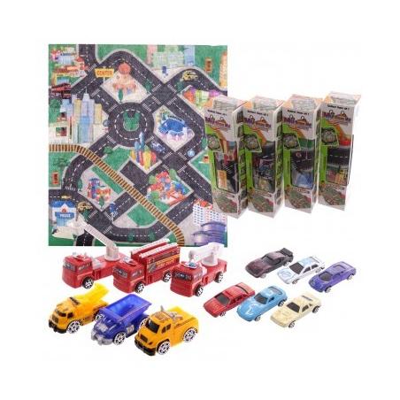 Tapis de jeu avec véhicules