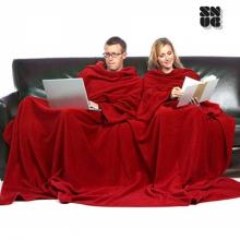 Couverture double avec manches pour deux personnes et poche Snug Snug