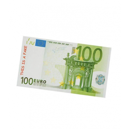 Bloc notes billets en euro