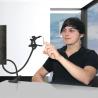 Pince support pour téléphone portable flexible