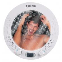 Radio de douche avec miroir