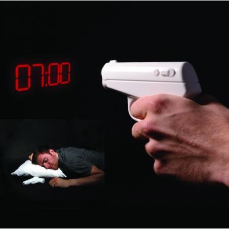 Pistolet projecteur d'heure agent secret 007