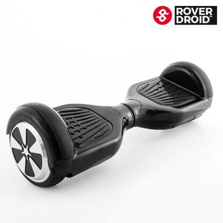 Skateboard électrique gyropode hoverboard rover droid noir