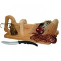 Guillotine à saucisson Le Berger avec couteau à pain offert