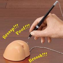 Porte-stylo fesses qui pètent