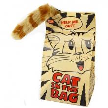 Jouet chat dans le sac