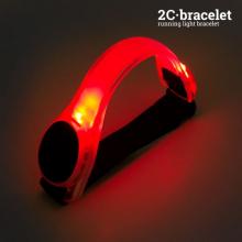 Brassard de sécurité lumineux à LED pour sportifs