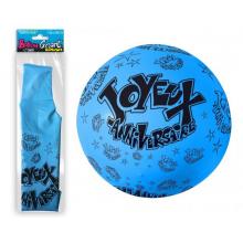Ballon géant joyeux anniversaire bleu 1,16 mètre