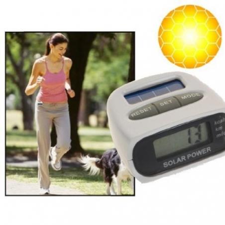 Podomètre solaire avec calorimètre